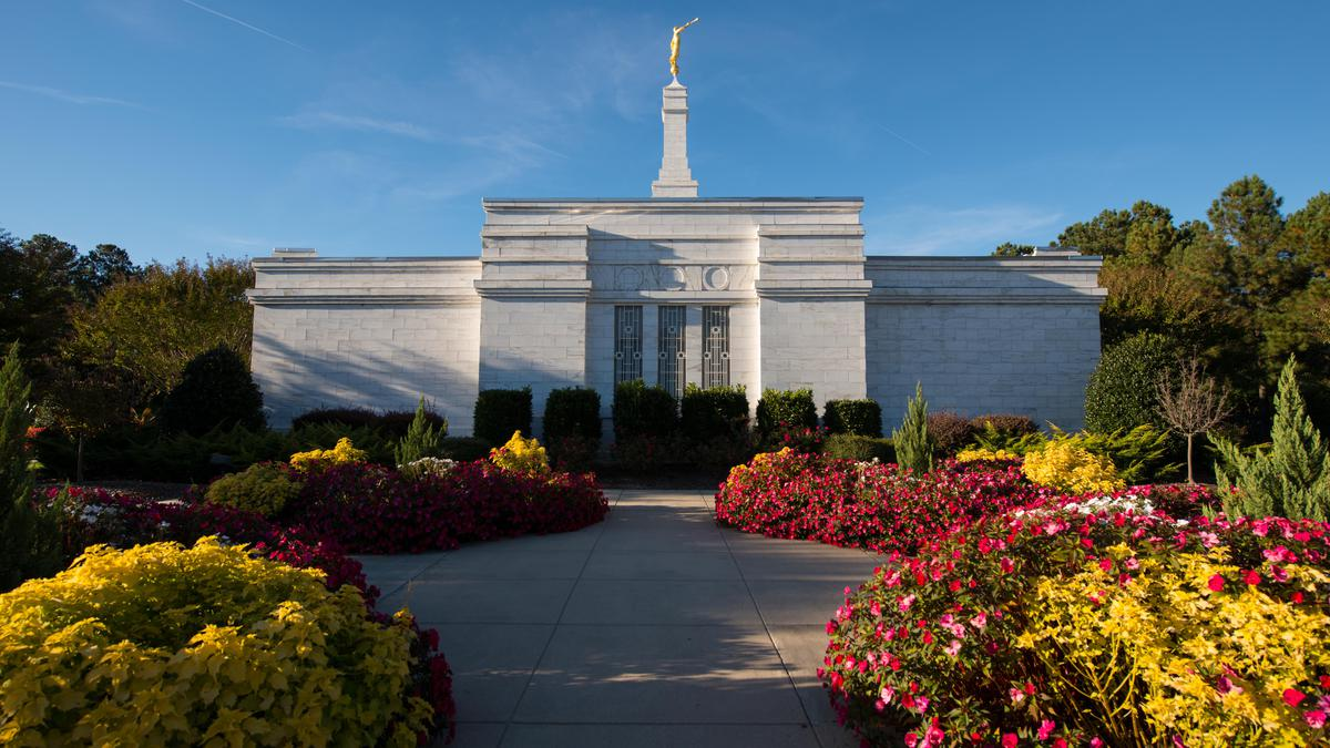 Raleigh North Carolina Temple Is Rededicated