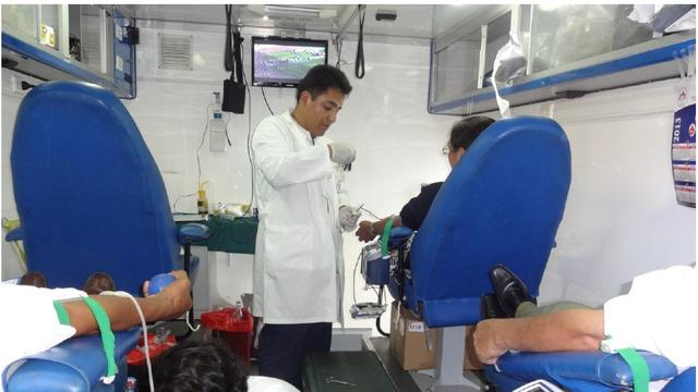 Bolivia Blood donation1