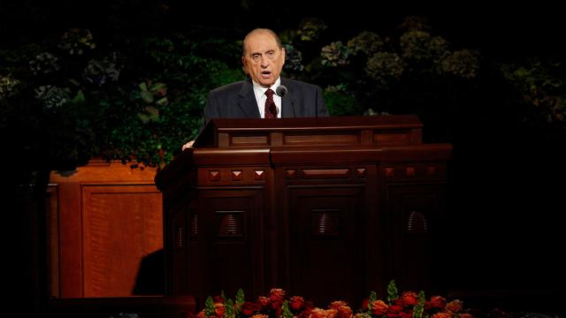 President Monson Oct 2013 Sat AM