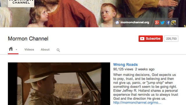 Mormon Channel Recognized for YouTube Success