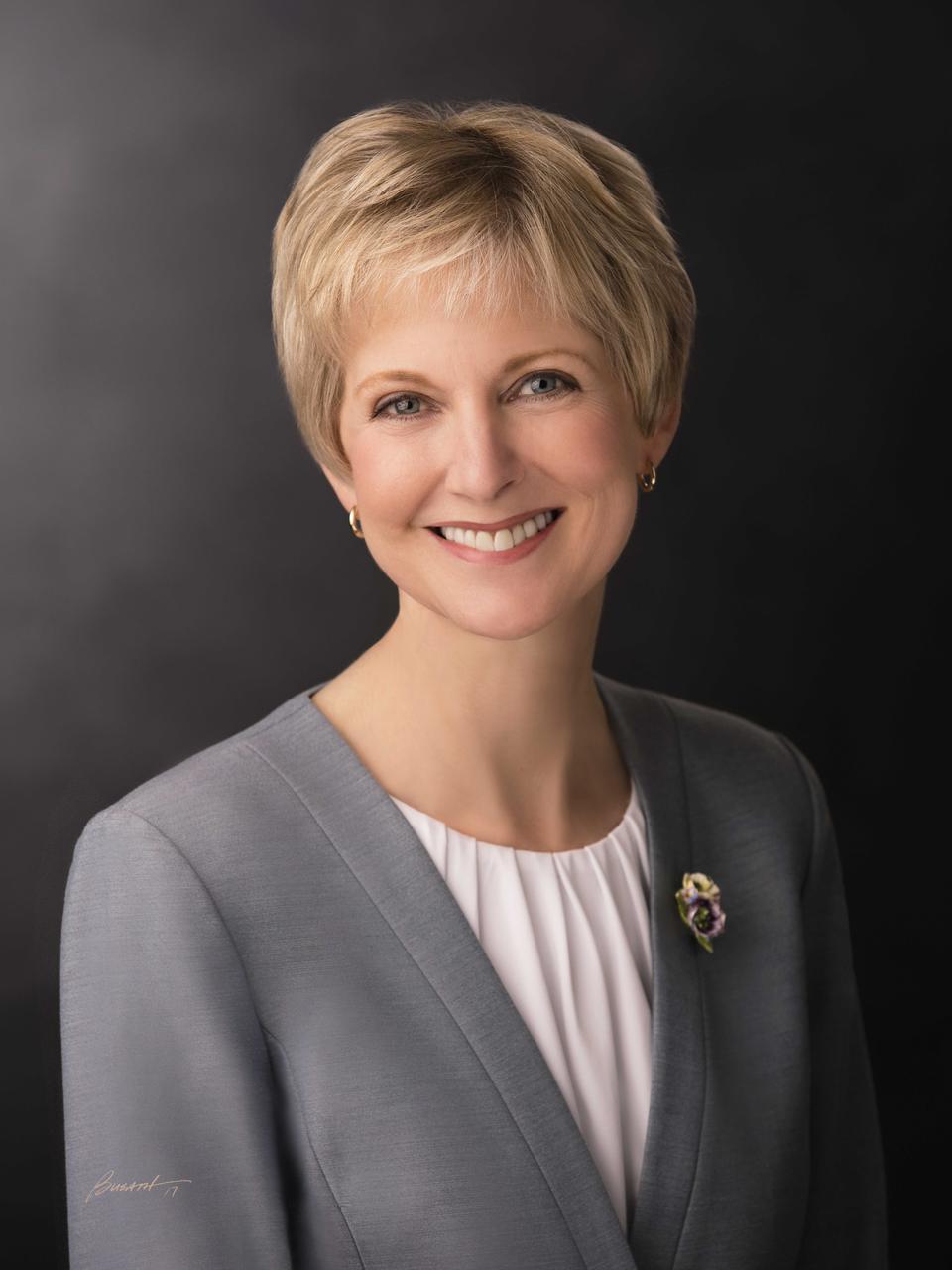996cee255 Sister Jean B. Bingham of the Relief Society General Presidency