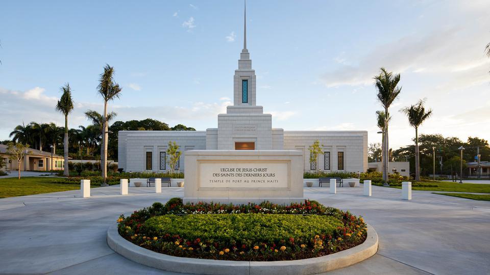 Templo de Puerto Príncipe Haití