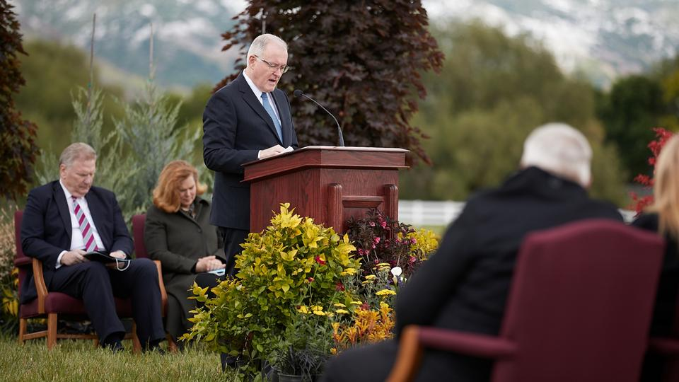 layton temple groundbreaking