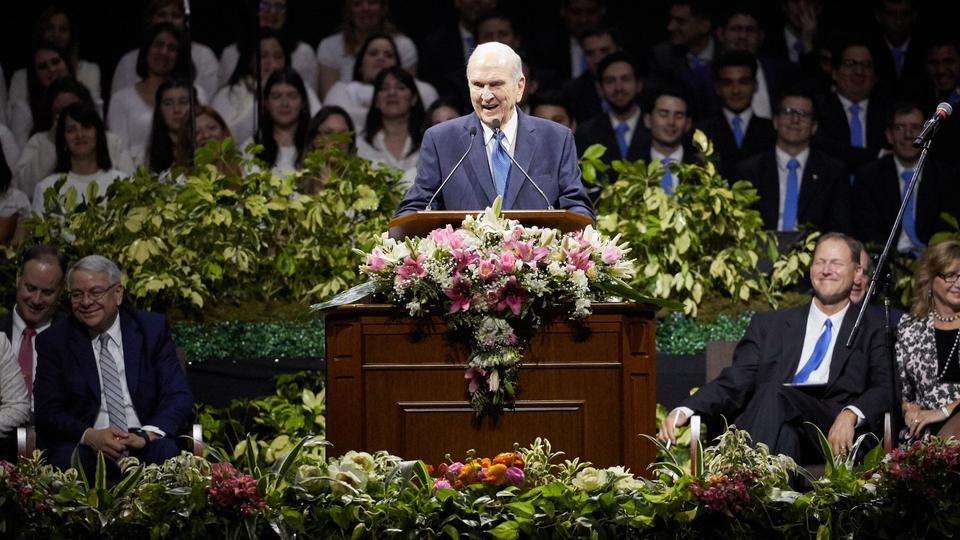 Buenos Aires, Argentina President Nelson Devotional