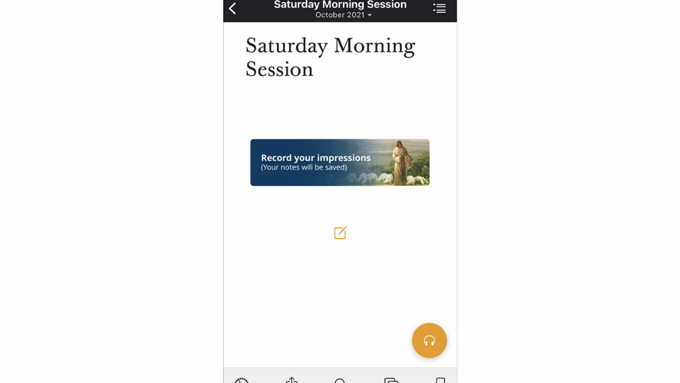 Conference-Notes-app
