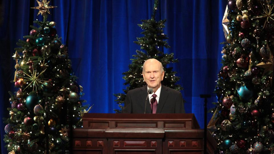 2019 Christmas Devotional Lds Gifts From the Savior Focus of First Presidency's Christmas Devotional