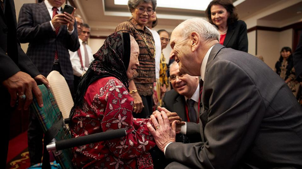 President Nelson in Malaysia, November, 2019
