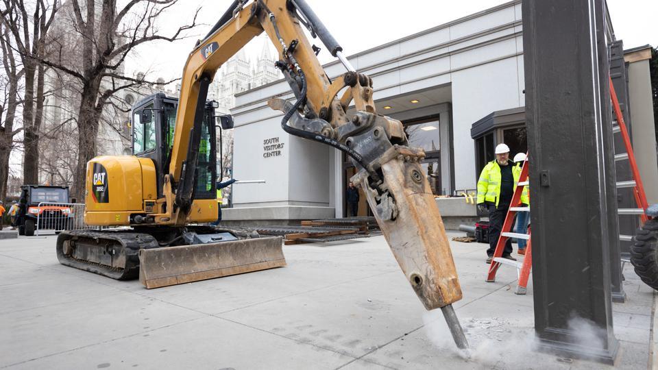 Salt Lake Temple Decommission