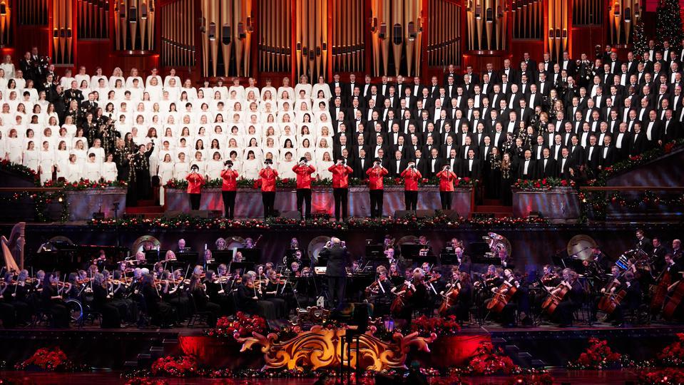 Lds Christmas Concert.Mormon Tabernacle Choir Celebrates Christmas Broadway Style