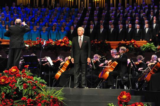 "9/11 Mormon Tabernacle Choir performance ""Rising Above"""