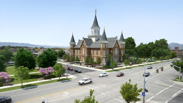 Provo Tabernacle Rendering