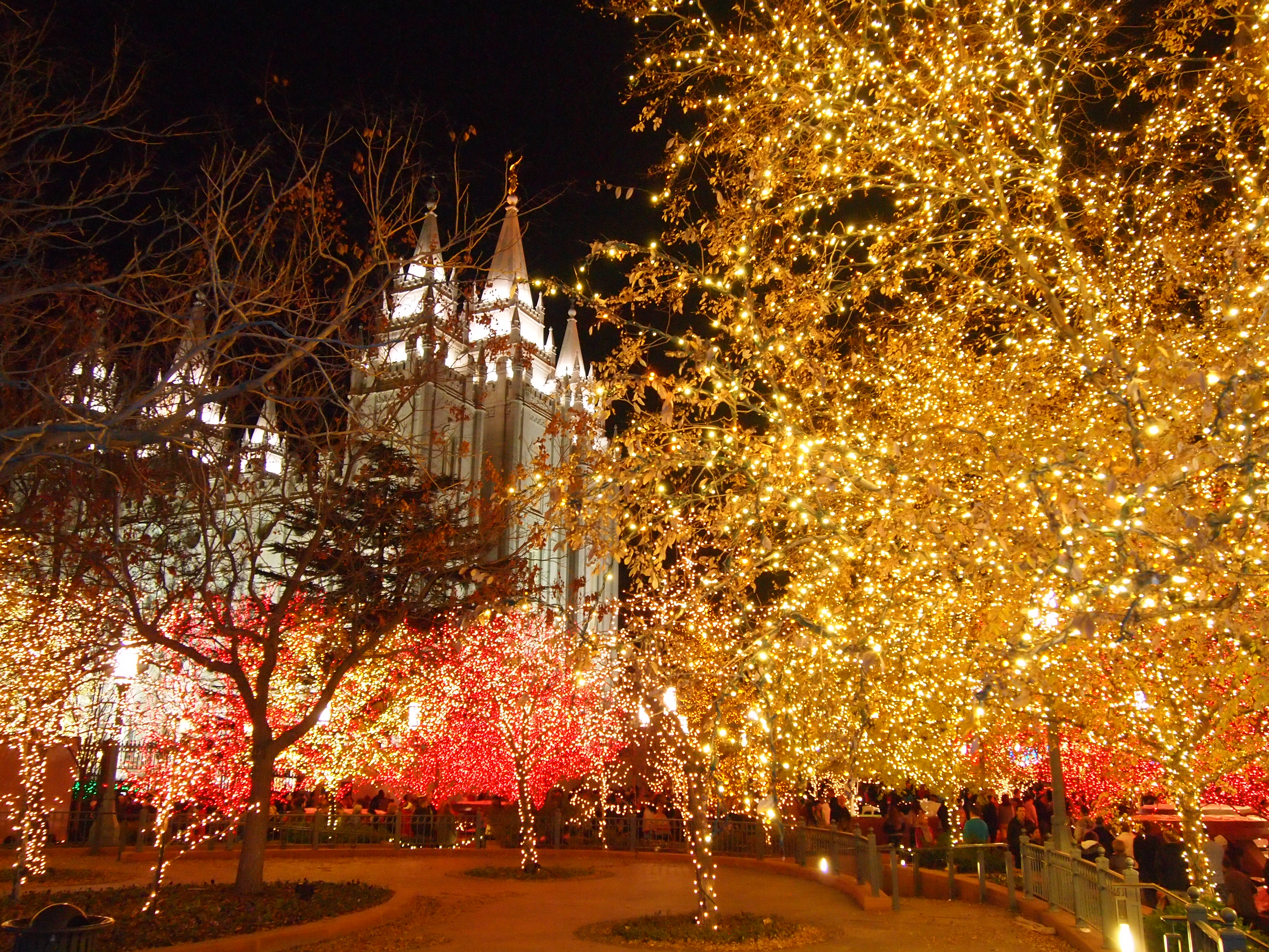 Temple Square lights11 2014