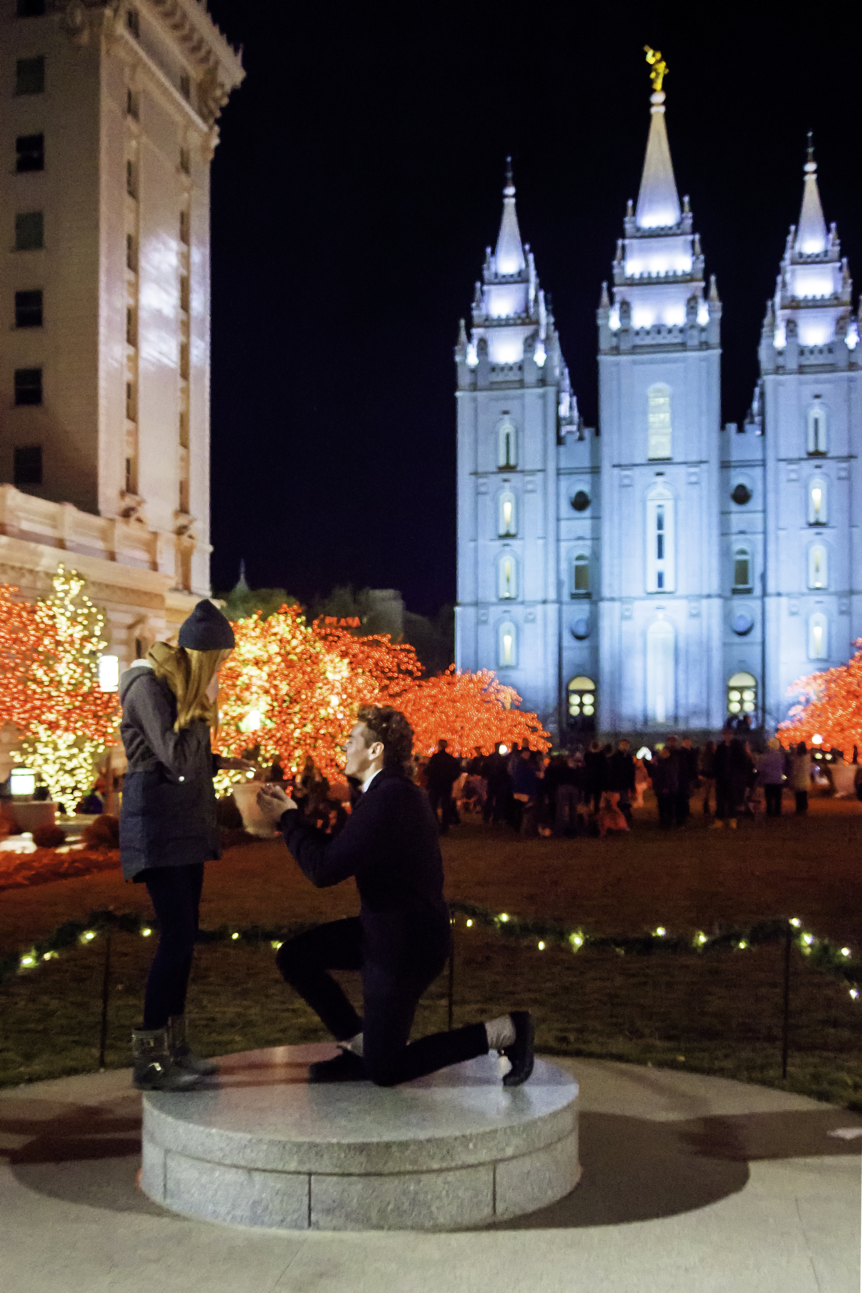 Temple Square lights16a 2014