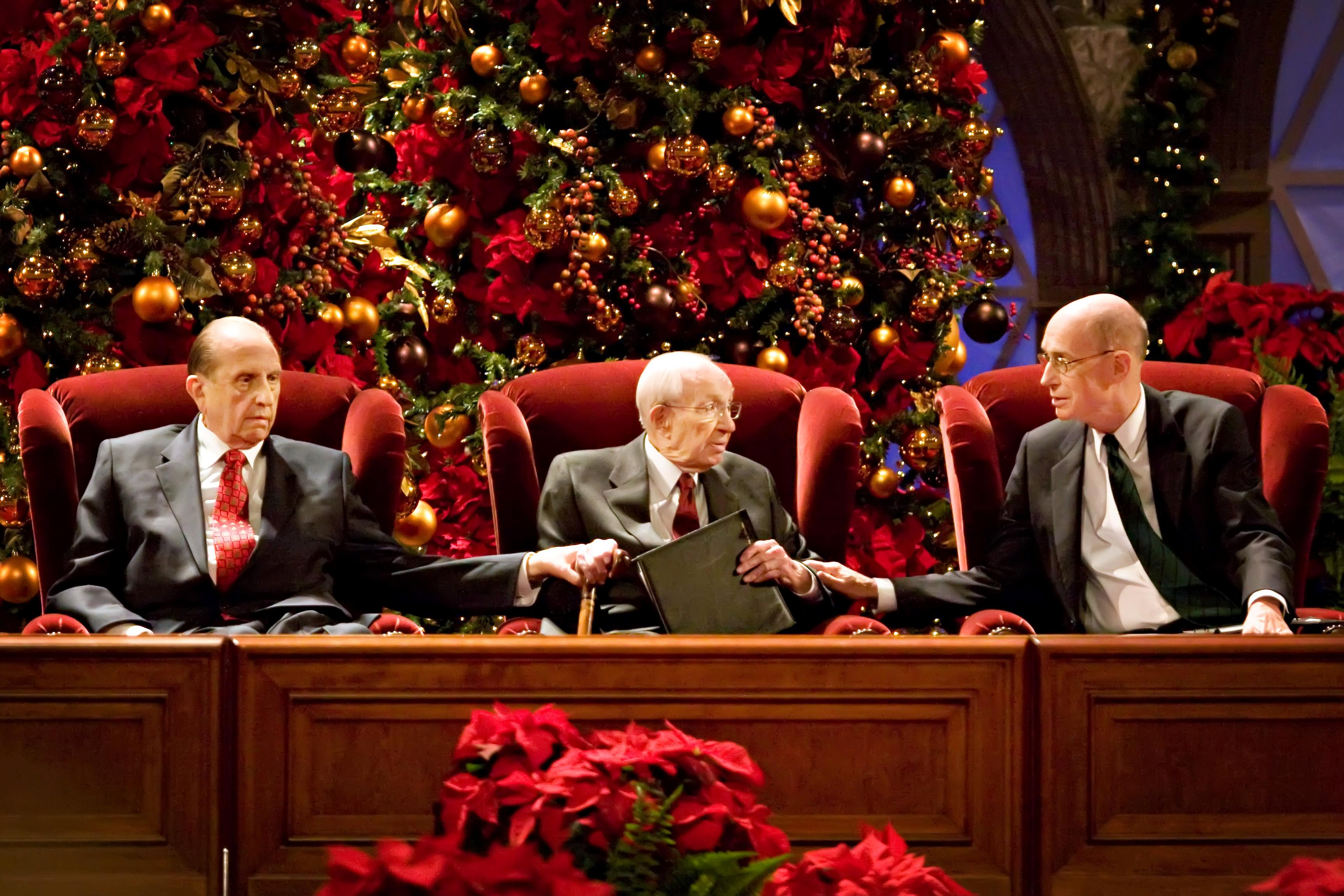 Lds Christmas Devotional.First Presidency Sends Christmas Message