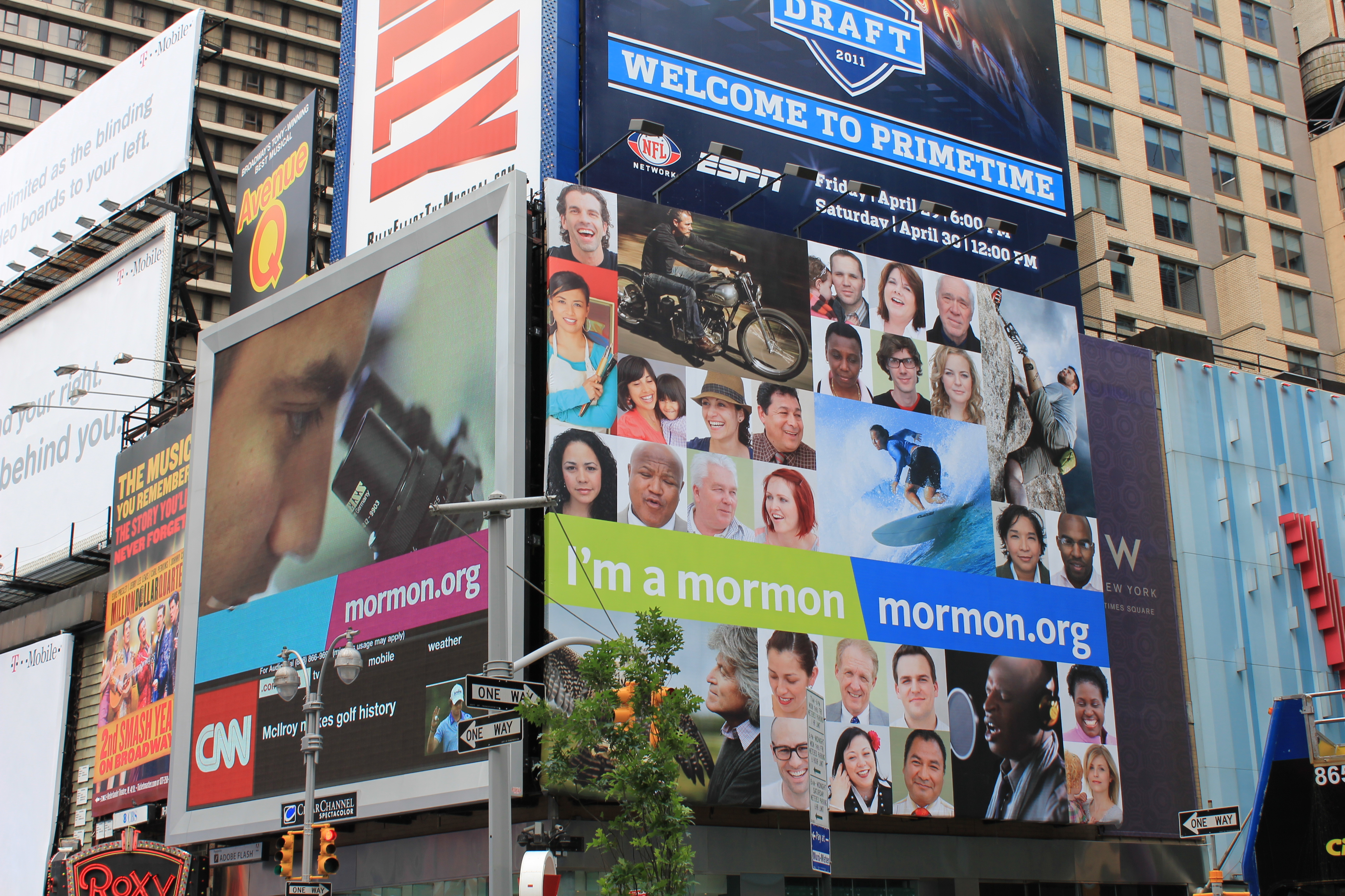 """Mormon org """"I'm a Mormon"""" Effort Launches in New York City"""