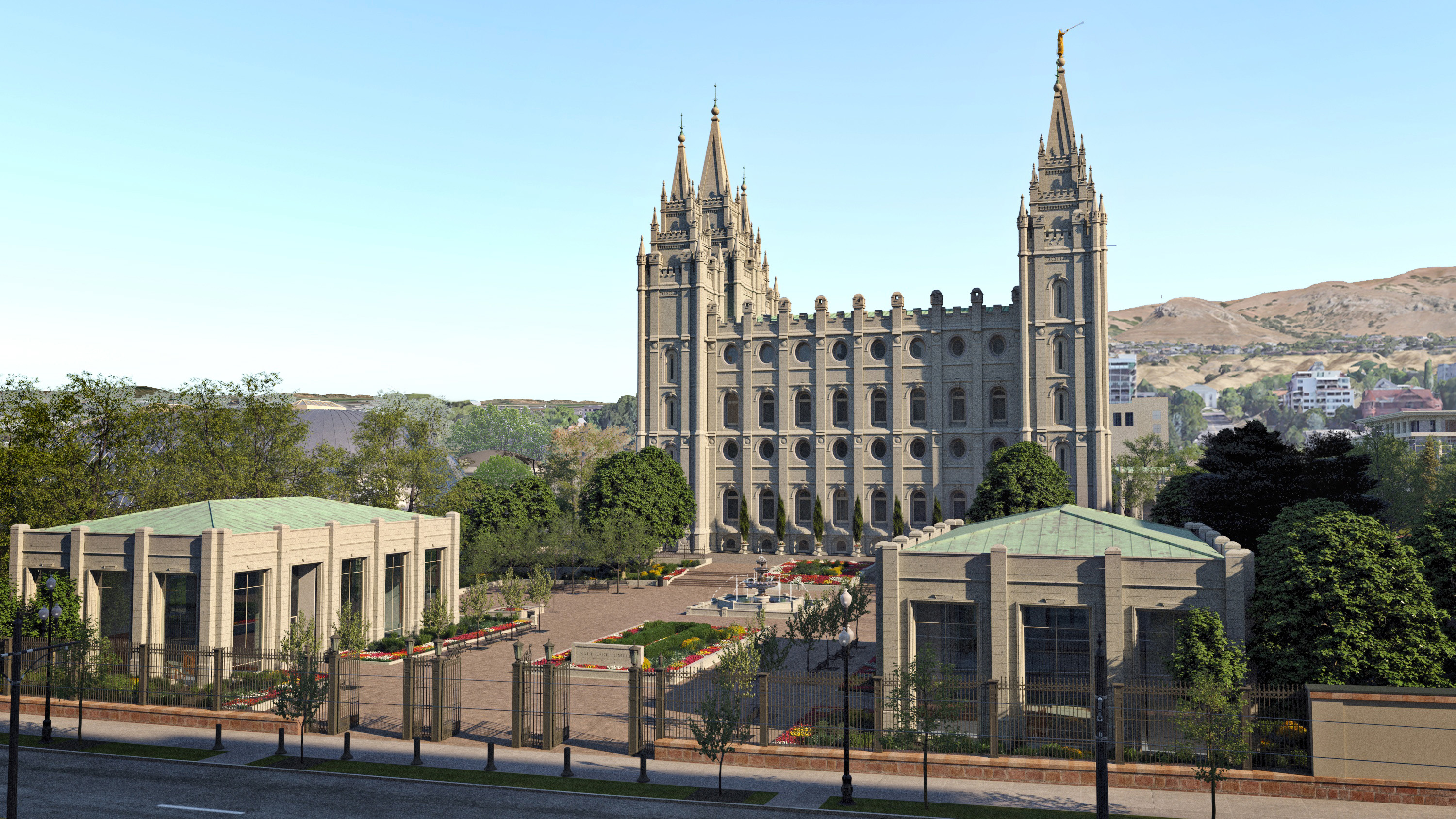 Plans Unveiled for Salt Lake Temple Renovation